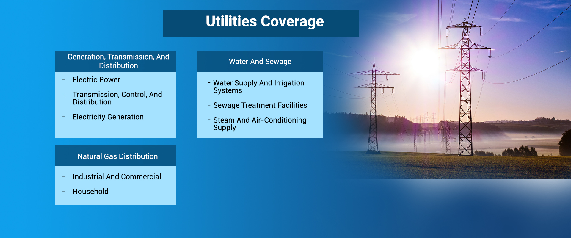 Utilities Coverage