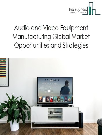 Audio And Video Equipment Market By Type of Product (video equipment and audio equipment), Opportunities And Strategies– Global Forecast To 2022