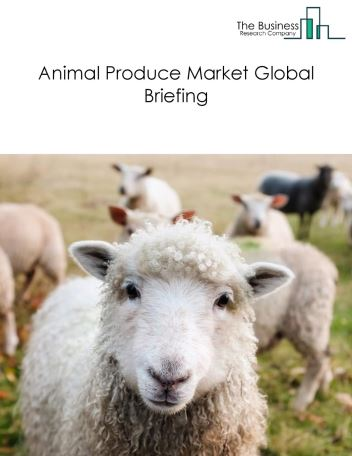 Animal Produce Market Global Briefing 2018