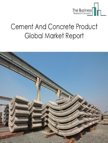 Cement And Concrete Product