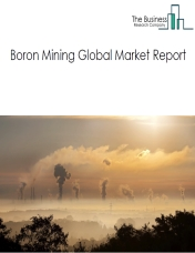 Boron Mining Global Market Report 2019
