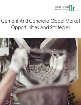 Cement And Concrete Market By Type of Product(cement manufacturing, ready-mix concrete manufacturing, concrete pipe, brick, and block manufacturing and other concrete product manufacturing) Market Overview And Players – Global Forecast To 2022
