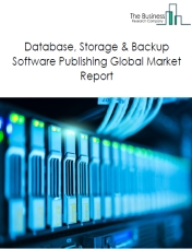 Database, Storage & Backup Software Publishing Global Market Report 2019