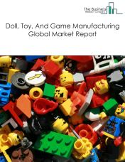 Doll, Toy, And Game Manufacturing Global Market Report 2018