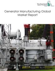 Generator Manufacturing Global Market Report 2018