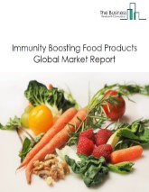 Immunity Boosting Food Products Global Market Report 2021: COVID-19 Implications And Growth To 2030