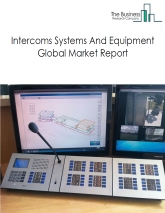 Intercoms Systems And Equipment Global Market Report 2020