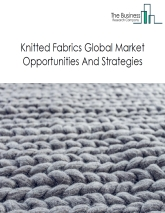 Knitted Fabrics Market By Type (dyed synthetic fibres, pile fabrics, elastomeric yarn, warp knit, cotton dyed, synthetic fibres printed, artificial fibres dyed, lace and others), Market Trends And Market Players – Global Forecast To 2022.