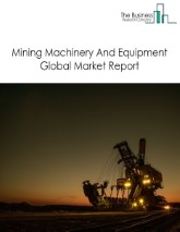 Mining Machinery And Equipment Global Market Report 2021: COVID-19 Growth And Change