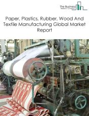 Paper, Plastics, Rubber, Wood And Textile Machinery Manufacturing Global Market Report 2020