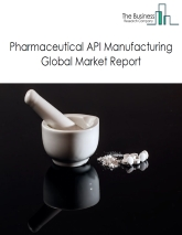 Pharmaceutical API Manufacturing Global Market Report 2020