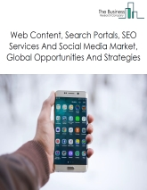 Web Content, Search Portals, SEO Services And Social Media Market By Segments (Internet Search Portals, Digital Publishing And Content Streaming, Search Engine Optimization Services) – Global Forecast To 2022