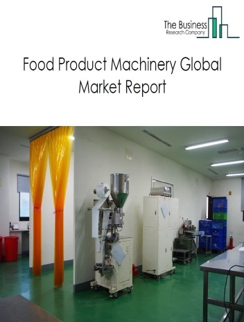 Food Product Machinery
