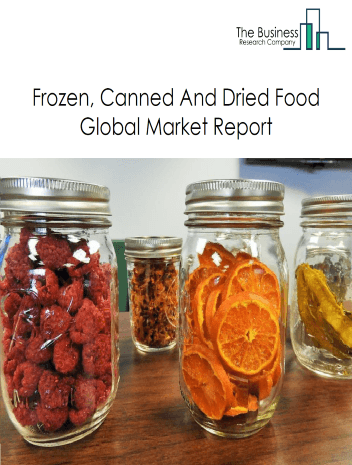 Frozen, Canned and Dried Food Global Market Report 2021: COVID-19 Impact and Recovery to 2030