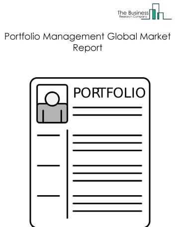 Portfolio Management Global Market Report 2018