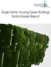 Single-Family Housing Green Buildings Market Global Report 2020-30: Covid 19 Growth and Change