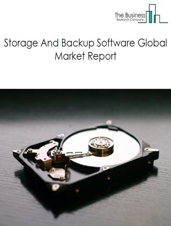 Storage And Backup Software