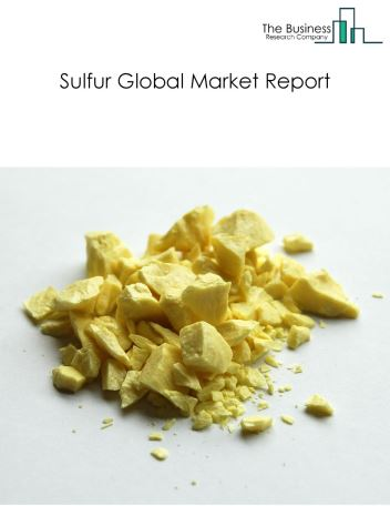 Sulfur Global Market Report 2018