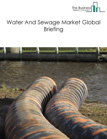 Water And Sewage Market Global Briefing 2018